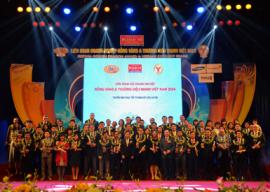 """Hoàn Cầu Group đón nhận danh hiệu """"Thương hiệu mạnh Viet Nam 2015"""""""