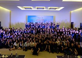 Lễ chào đón cán bộ nhân viên Diamond Bay Condotel Resort
