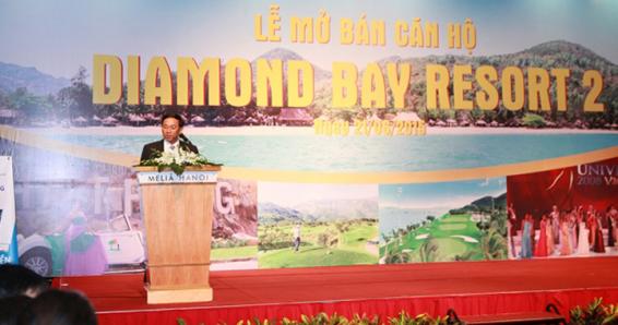 55 căn hộ nghỉ dưỡng Diamond Bay Condotel Resort được bán trong lễ mở bán tại Hà Nội