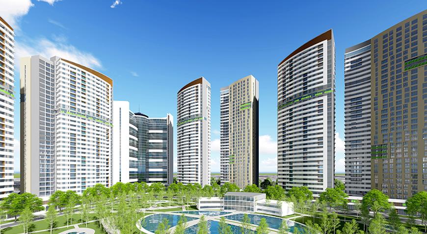 Khu phức hợp dịch vụ thương mại & căn hộ cao cấp diamond city
